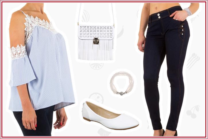 Sexy High-Waist Jeggings für Deinen Girly-Look – günstig online bestellen und beliebig kombinieren!
