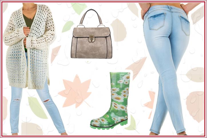 Happy-go-lucky Style – kauf Dir jetzt Deine Gummistiefel mit Blumenmuster günstig im Online-Shop!