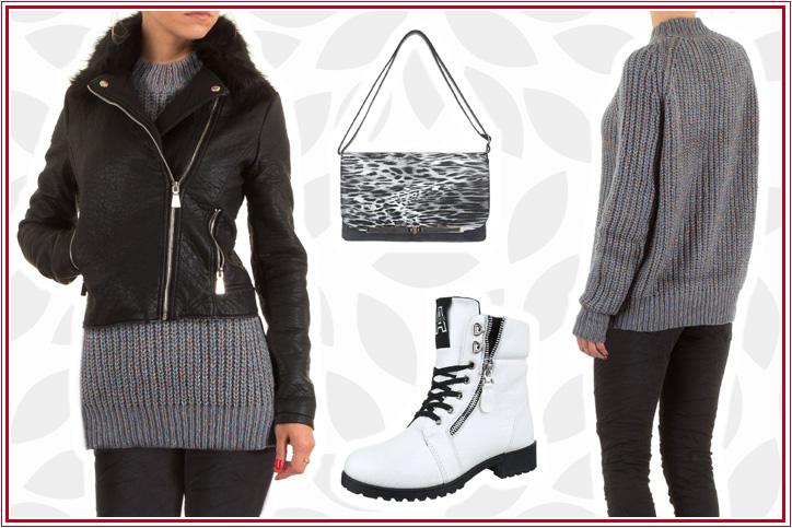 73e047999d Rockröhre – Jetzt Deinen Winter-Style mit markanten Boots in Weiß günstig  kaufen und losrocken