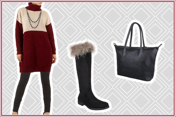 Kuscheleganz – dieser Strick-Pullover hält warm, was er verspricht! Jetzt preiswert online einkaufen!
