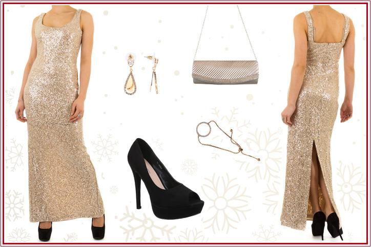 Funkelnde Diva – Bestell Dir dieses günstige Abendkleid online und Dein perfekter Auftritt ist garantiert!