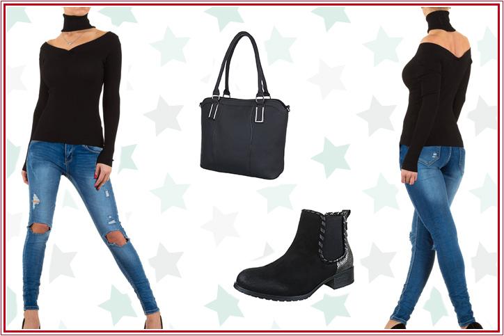 Off-Shoulder Casual – Jetzt Deinen schulterfreien Pullover zum Casual Outfit günstig online bestellen!