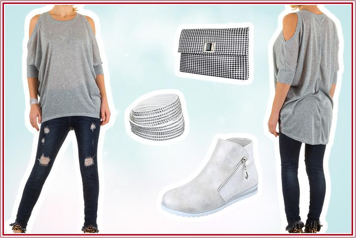 Cocktail Lounge – Flache Ankle Boots für Deinen Glamour Look zum günstigen Onlinebestpreis kaufen!