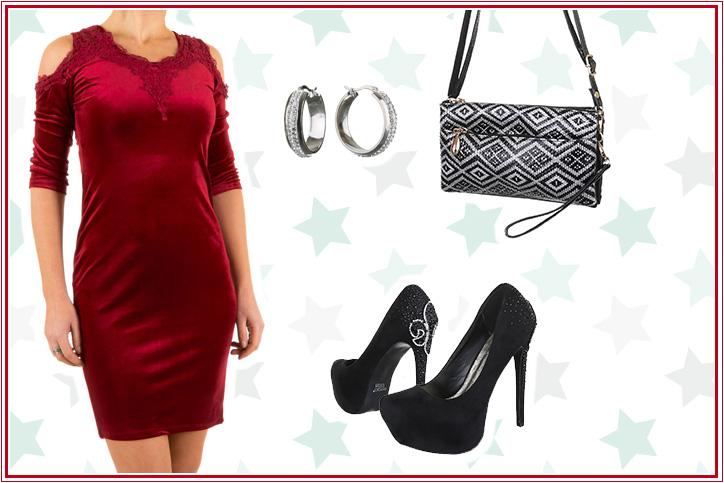 Off-Shoulder Glamour – Kauf Dir Dein schulterfreies Abendkleid-Outfit zum günstigen Onlinepreis!