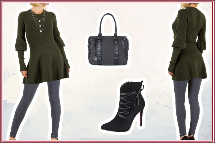 Bishop Sleeves – Jetzt Dein Strickkleid mit trendigen Statement Sleeves super günstig online kaufen!