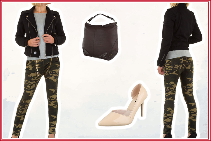 Girl Sergeant – Bestell Dir Deine Camouflage-Hose günstig online und werde zur Fashionista!