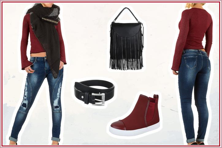 Bell Sleeves – Shoppe jetzt Deinen Crop-Pullover mit Statement Sleeves günstig online bei Ital-Design!