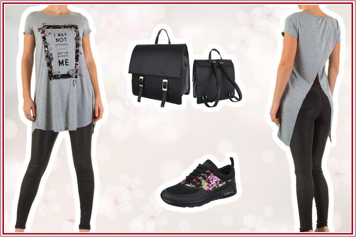 Hipster Chic – Bestell Dir Deinen lässigen Look mit Blumenmuster-Sneakers für Damen günstig online!