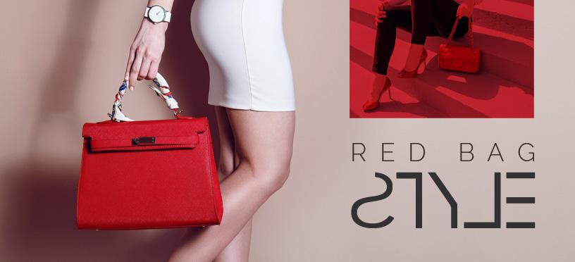 Jetzt Handtaschen in Rot günstig online bestellen und Deinen Style zum Hingucker machen!