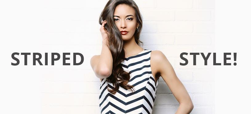 Shirts und Kleider mit Streifen – günstig online bestellen und perfekt stylen!