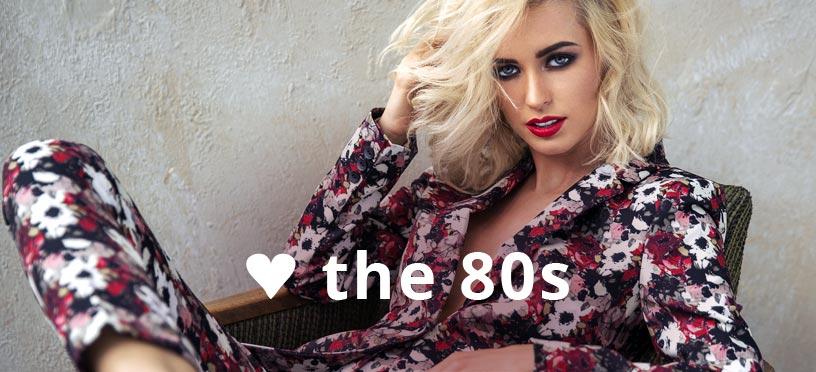 Dein 80s-Style zum günstigen Onlineeinkaufspreis – werde jetzt zum Trendsetter!