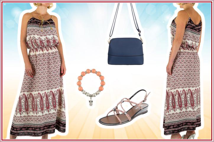 Señora Verano – Sichere Dir noch heute Dein langes Sommerkleid zum billigen Onlineeinkaufspreis!