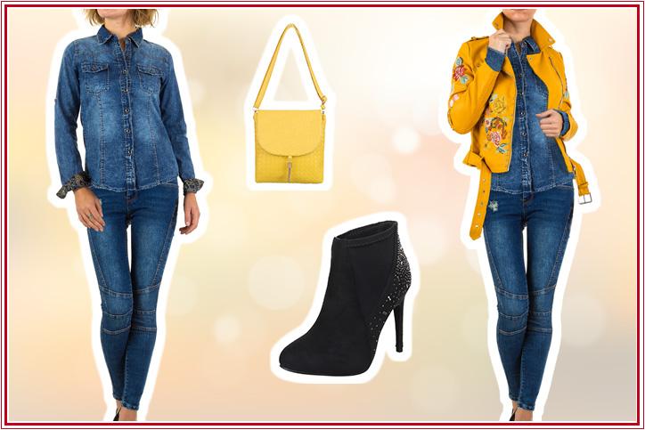 City Chic – Bestell Dir Deinen Style mit Glitzersteinchen-Stiefeletten günstig online bei Ital-Design!