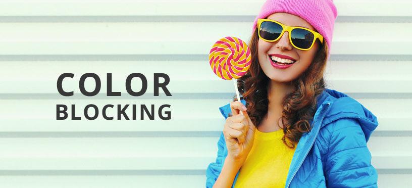 Color Blocking ist der Fashiontrend im Herbst/Winter 2017 – jetzt entdecken!