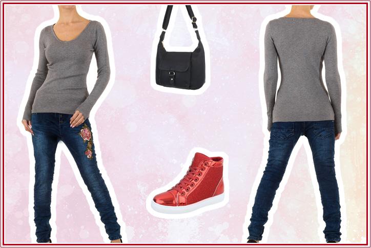 Sneaky Red – Deinen Casual Look mit roten Sneakers gibt es jetzt richtig günstig online zu shoppen!