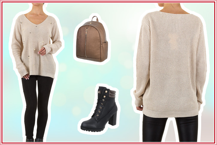 Strick mit Kick – Jetzt günstig Deinen lässigen Strickpullover für den perfekten Casual Look kaufen!