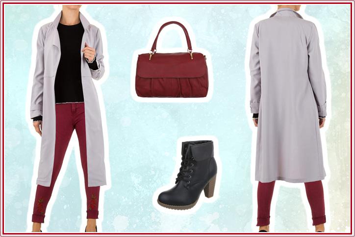 Cool Cardigan – Dein Outfit mit langem Wintermantel zum günstigen Online-Shopping-Preis!