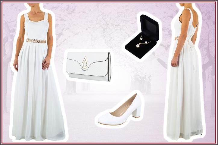 Spring Bride – Pumps in Weiß als Hochzeitsschuhe zum günstigen Online-Shoppingpreis!
