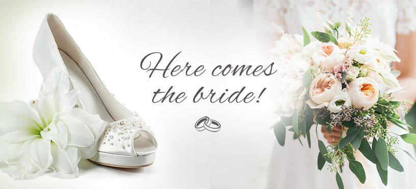 Weiße Brautschuhe günstig online einzukaufen geht jetzt ganz einfach!