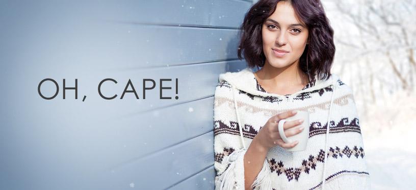 Warme Ponchos & Capes machen aus jedem Look einen eleganten Hingucker
