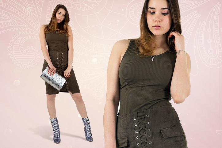 Lace-up Deluxe – Funkelnde Lace-up High Heels für schicke Styles gekonnt kombinieren