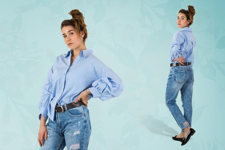 Berlin Sidewalk – Dein trendiges Outfit mit Trompetenärmeln zum günstigen Onlineeinkaufspreis!