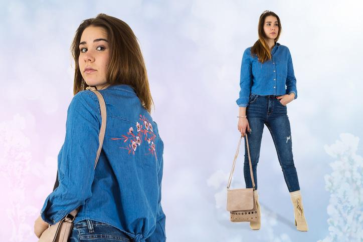 Cowgirl Denim – So süß kann der trendige Denim-on-Denim-Look aussehen!
