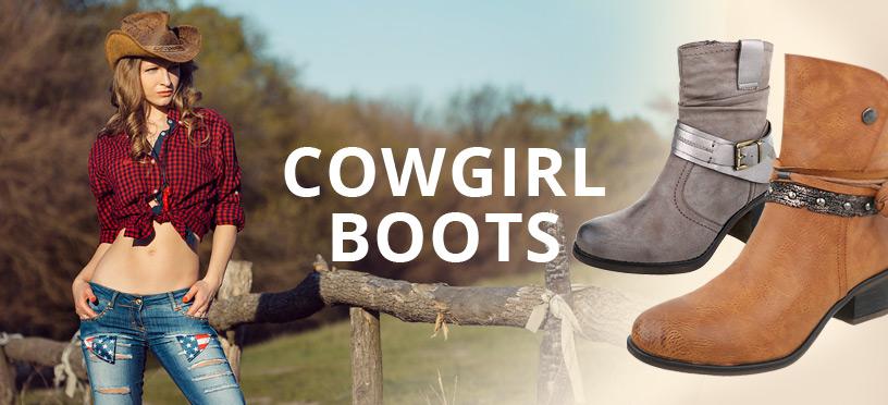 YEE-HAW! Cowgirl Boots für Deinen perfekten Frühlingslook 2018!