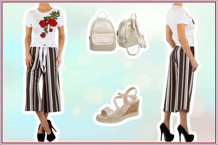 Elegant Capri – Culottes und Wedges günstig online kaufen und perfekt miteinander kombinieren!