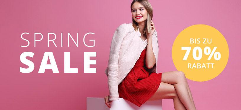 Tolle Frühlingsmode und Schuhe im Sale super günstig online kaufen!
