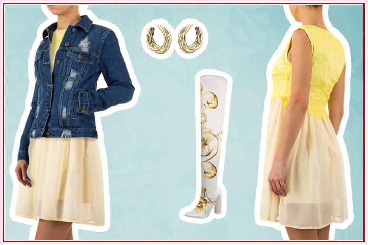 Overknees Deluxe – High-Heel Overknees günstig kaufen und mit dem Sommerkleid kombinieren!