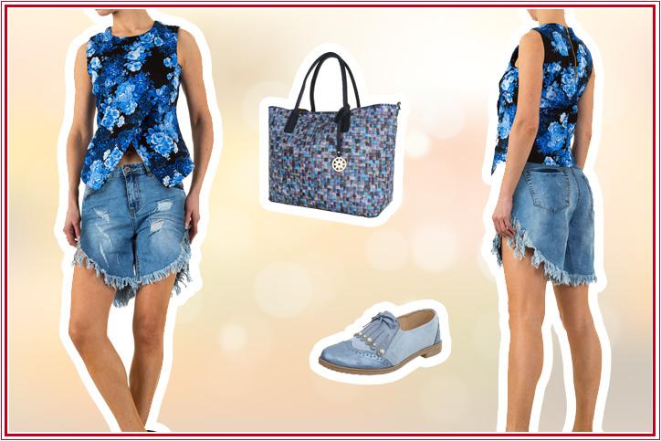 City Shopper – das perfekte Sommeroutfit mit Maxi Bag günstig online bei Ital-Design bestellen!