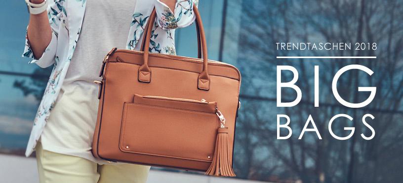 Große Taschen lassen sich perfekt mit vielen Summer Styles kombinieren!