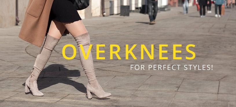 Schicke Overknee-Stiefel sind auch 2018 wieder absolute Style-Pflicht!