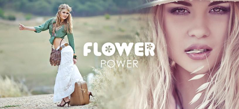 Flower Power 2018 – erlebe das große Comeback der Hippie-Styles