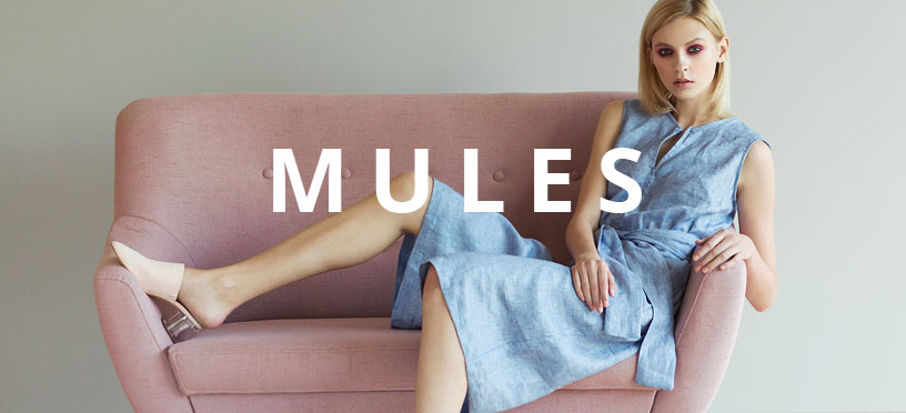 Mules 2018 – die Trendschuhe des Sommers sind zurück und Du bist dabei!