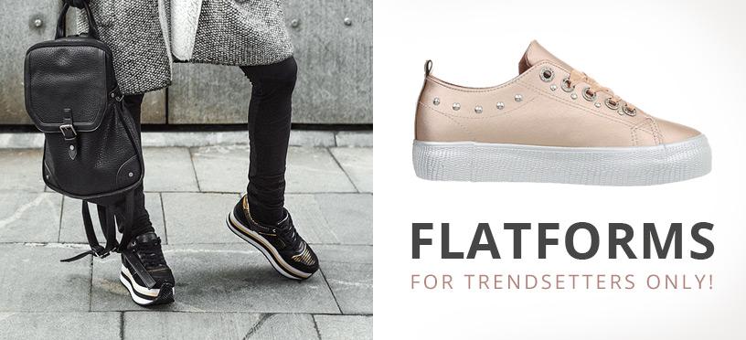 Flatforms 2018   So stylst Du die schicken Plateauschuhe perfekt