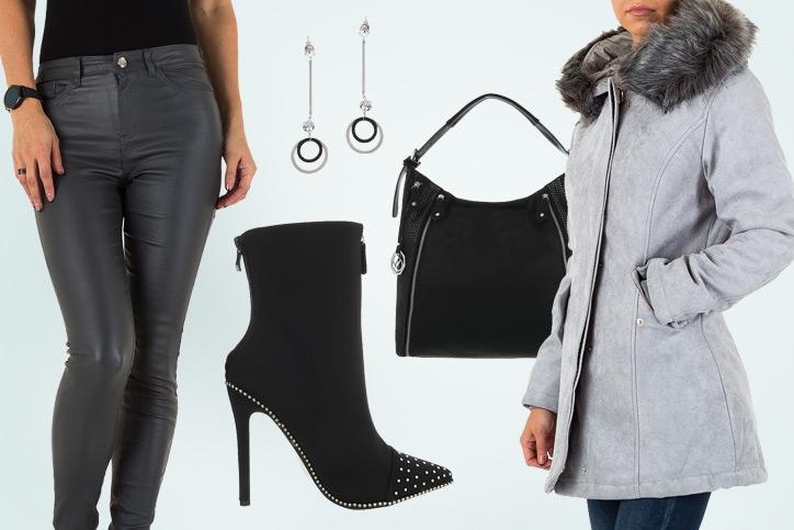 Lady in Black – Spitze schwarze Stiefeletten erst günstig einkaufen und dann perfekt kombinieren