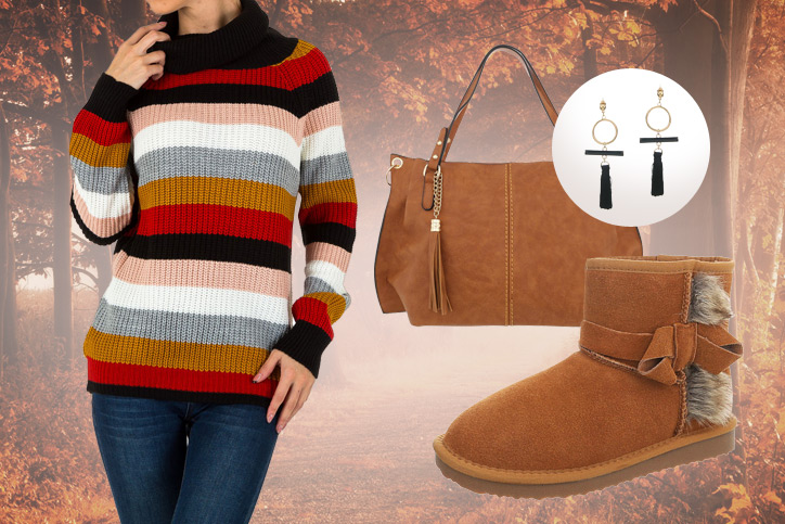 Herbsttage – Dein kuscheliger Herbst-Look 2018 für jeden Tag zum günstigen Onlineeinkaufspreis