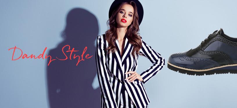 Schnürer für Damen im Dandy-Style   So kombinierst Du die Trendschuhe richtig