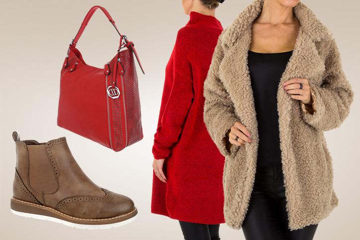 Cozy Elegance – Den flauschigen Kurzmantel günstig kaufen & dann perfekt zum Herbstlook stylen