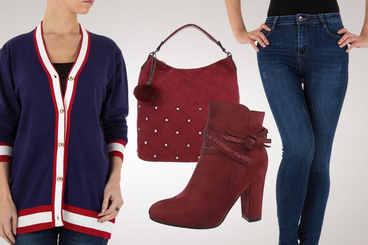 College Girl – Mit dieser Strickjacke zum günstigen Onlineeinkaufspreis bist Du lässig unterwegs