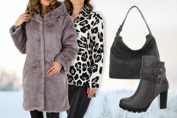 Lady in Black – Deinen warmen Teddy-Fleece-Wintermantel günstig shoppen & schick kombinieren