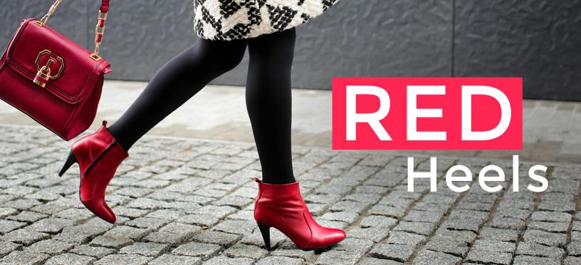 Mit roten Trendschuhen zu Deinem glamourösen Star Style 2019