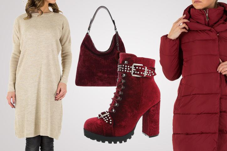 Heeled for the Week – Dein Winterlook mit roten Boots zum günstigen Onlineeinkaufspreis