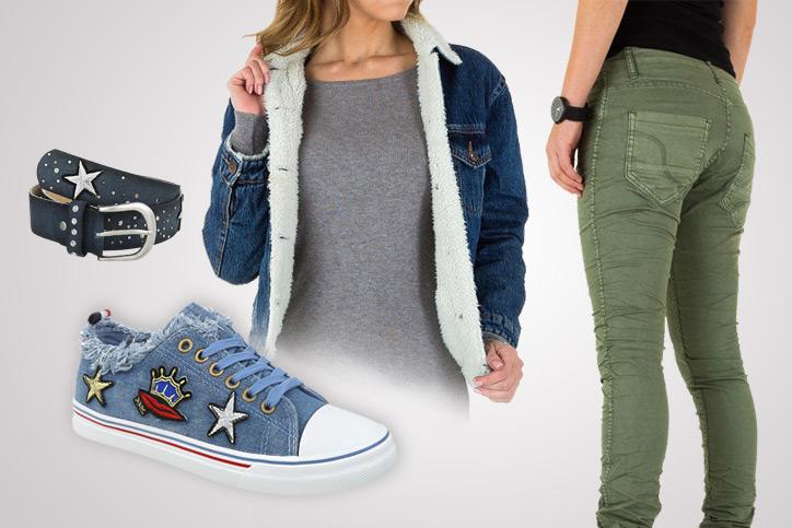 Denim Casual – Lässige Jeansartikel zum billigen Onlineeinkaufspreis können so stylisch aussehen