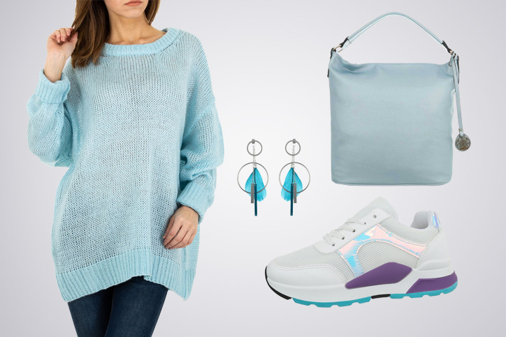 Sporty Style XXL – So kombinierst Du günstige Oversized-Pullover und trendige Sneakers richtig!