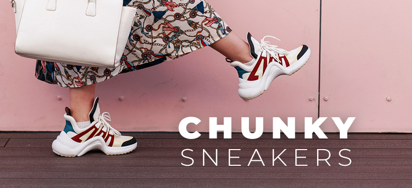 Chunky Sneaker Styles | Die besten Outfits mit Ugly Shoes