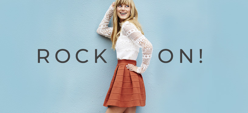 Rock On | So geht Dein perfekter Sommerlook mit Rock