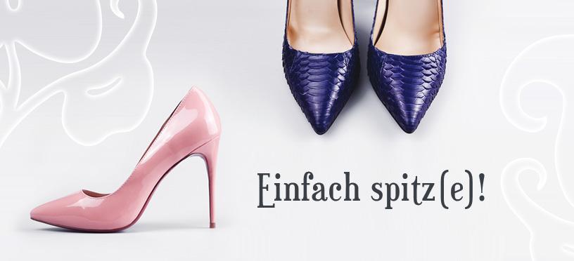 Einfach spitz(e)   So kombinierst Du spitze Schuhe richtig